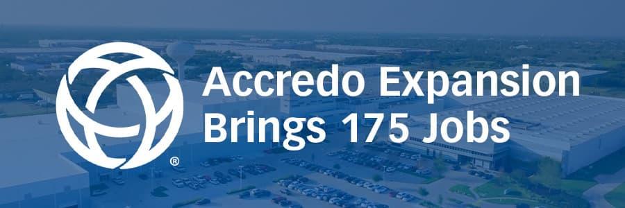 Accredo Expansion Brings 175 Jobs to Sugar Land