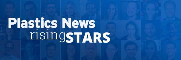Plastics News Rising Stars 2020 recognition winners