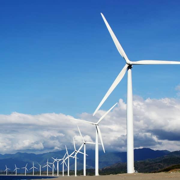Accredo Packaging uses 100% wind energy