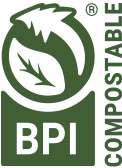 BPI Certified Compostable Seal