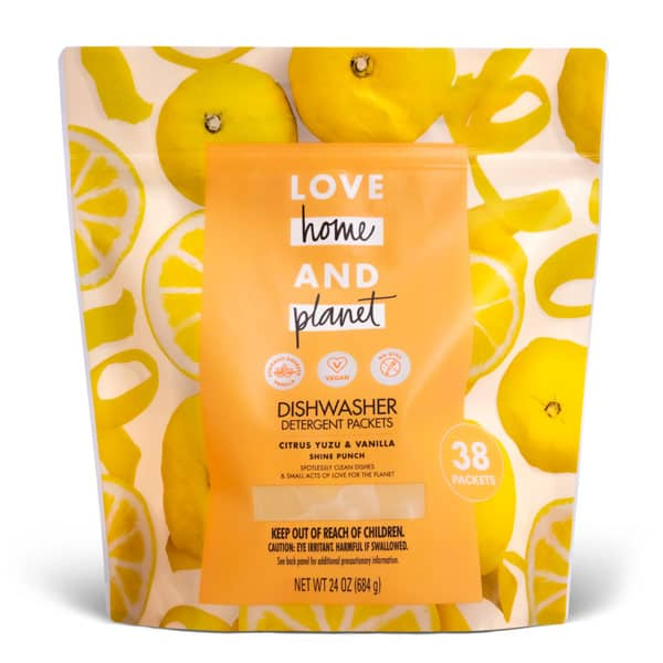 Love, Home and Planet Laundry Pacs Pouch