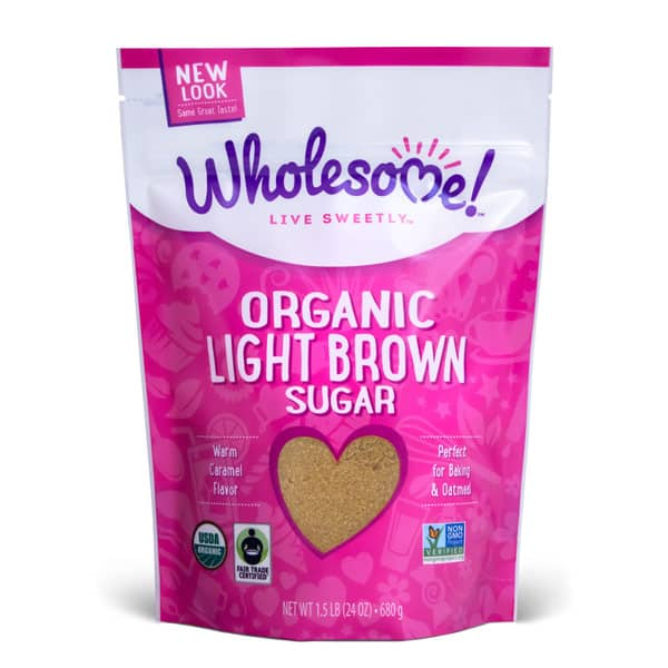Wholesome Brown Sugar Standup Pouch