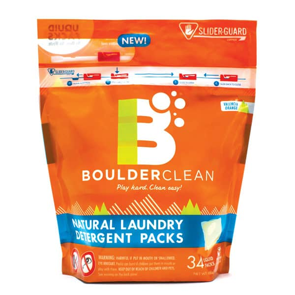 Traditional Standup Pouchm Boulder Laundry Packs
