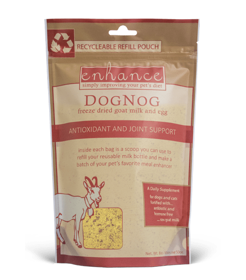 Recyclable Pouch for DogNog Pet food