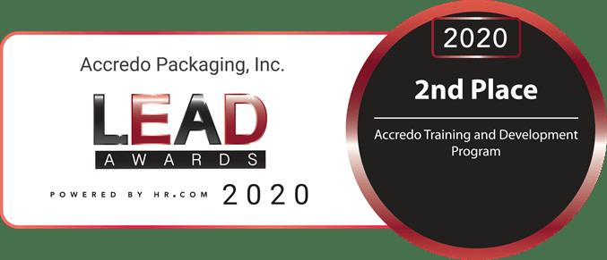 2nd Place Training & Development LEAD Award