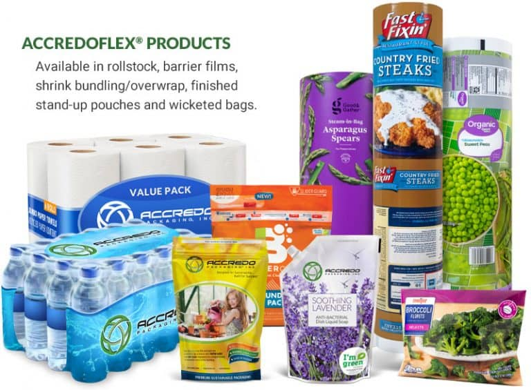 AccredoFlex Product Family - Sustainable Flexible Packaging